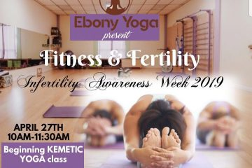 Fitness and Fertility Flyer